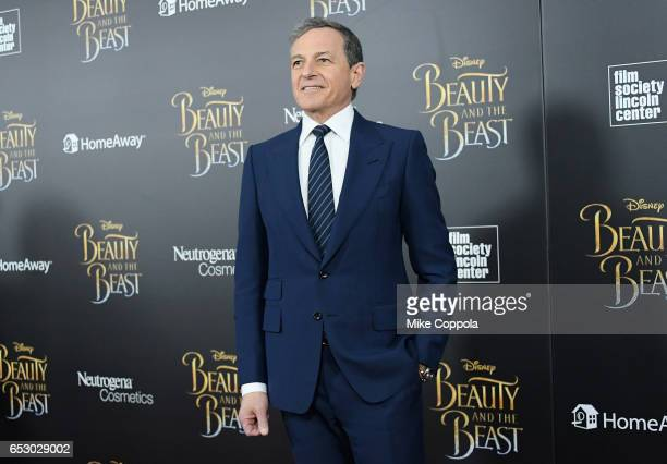 "Of the Walt Disney Company, Bob Iger attends the ""Beauty And The Beast"" New York Screening at Alice Tully Hall at Lincoln Center on March 13, 2017 in..."