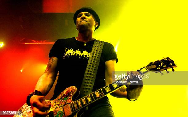 CJ of The Wildhearts performs live on stage at O2 Academy Manchester on May 4 2018 in Manchester England