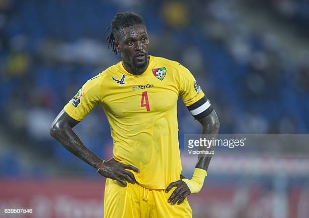 ADEBAYOR of Togo during the Group C match between Morocco and Togo at Stade Oyem on January 20 2017 in Oyem Gabon