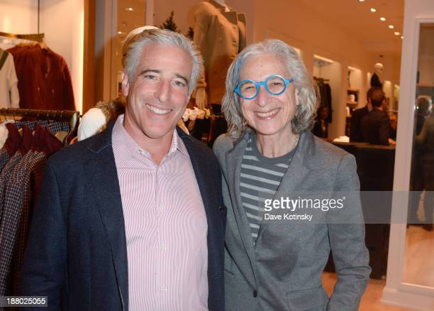 CEO of Tommy Hilfiger Gary Sheinbaum and Dr Jane Aronson attend the Tommy Hilfiger Celebrates Opening of New Garden State Plaza Store event at Garden...