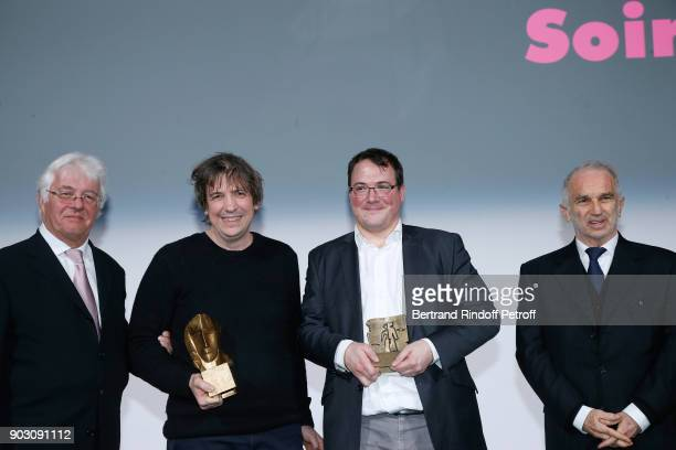 CEO of Transpalux Didier Diaz Gilles Gaillard who receives the 'Cesar et Techniques 2018' Award for his Company 'Mikros Image Technicolor' CEO of...