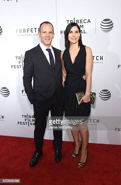 CEO of Tribeca Enterprises Andrew Essex vat The First Monday In May World Premiere 2016 Tribeca Film Festival Opening Night at John Zuccotti Theater...