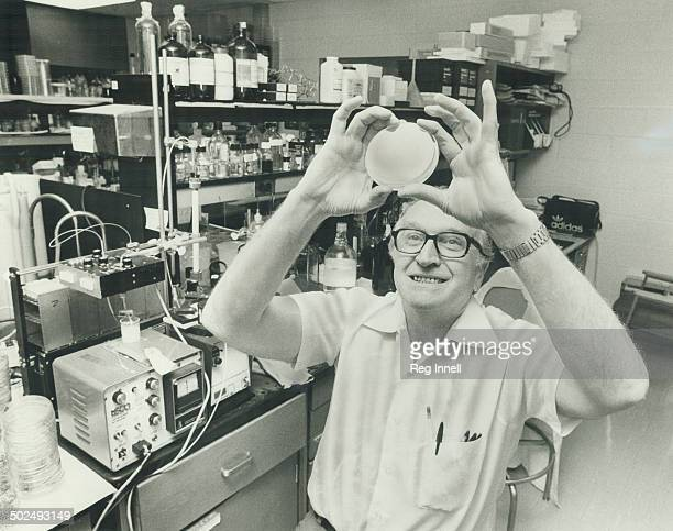 Of T.'s Dr. Louis Siminovitch; a geneticist with major discoveries in human origins