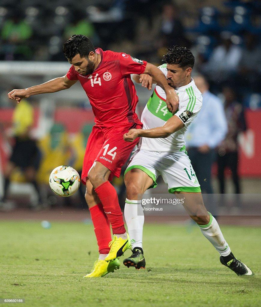 Algeria v Tunisia - 2017 Africa Cup of Nations: Group B : Foto jornalística