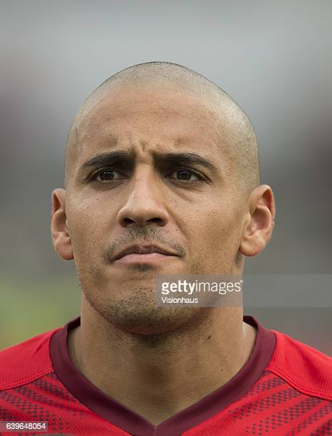 KHAZRI of Tunisia during the Group B match between Algeria and Tunisia at Stade Franceville on January 19 2017 in Franceville Gabon