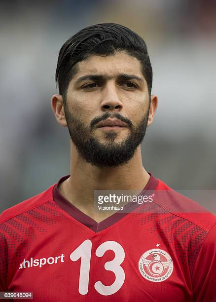 SASSI of Tunisia during the Group B match between Algeria and Tunisia at Stade Franceville on January 19 2017 in Franceville Gabon