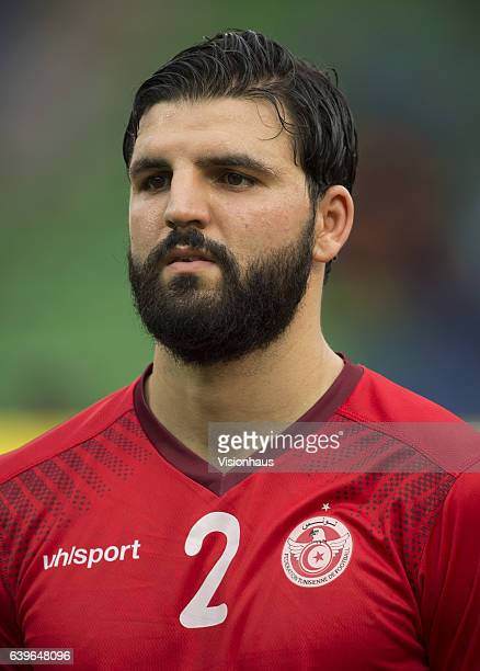 YOUSSEF of Tunisia during the Group B match between Algeria and Tunisia at Stade Franceville on January 19 2017 in Franceville Gabon