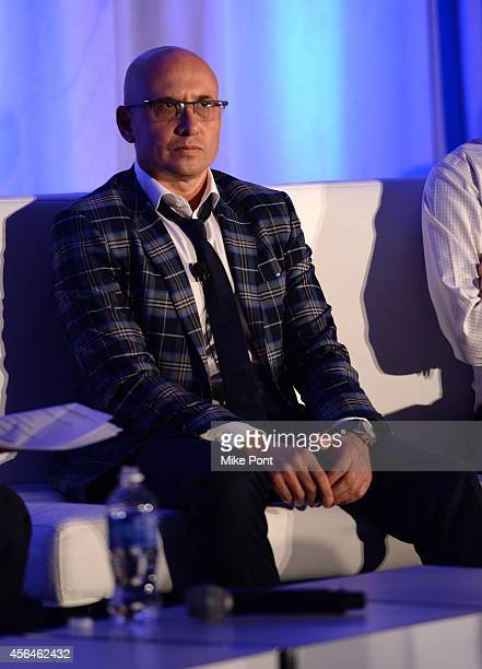 SVP of Turner Digital Branded Entertainment at Turner Digital Ed Wise speaks onstage at Video Brand Storytelling A Marriage of Art and Science during...