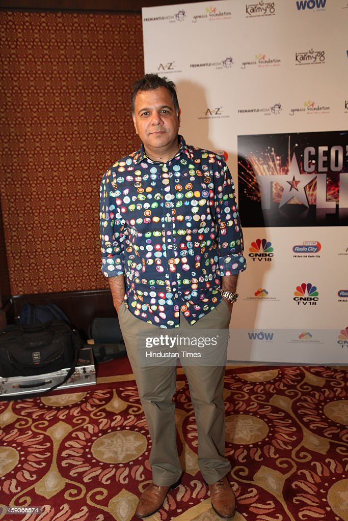 CEO of TV channel Colors during the second edition of CEOs Got