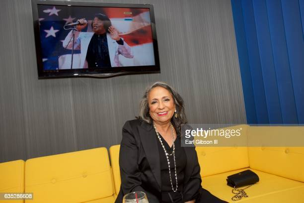 CEO of TV One Cathy Hughes attends the Premiere Of TV One's Media at Pacific Design Center on February 13 2017 in West Hollywood California
