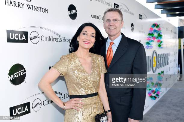 CEO of UCLA Hospital System Johnese Spisso and Ross Hartling attend UCLA Mattel Children's Hospital presents Kaleidoscope 5 on May 6 2017 in Culver...