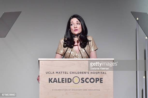 CEO of UCLA Hospital System Johnese Spisso speaks onstage during UCLA Mattel Children's Hospital presents Kaleidoscope 5 on May 6 2017 in Culver City...