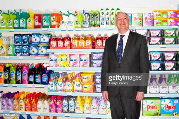 CEO of Unilever Paul Polman is photographed for Fortune magazine on March 7 2013 in London England