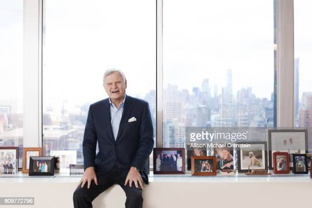CEO of Univision Communications Inc Randy Falco is photographed for The Hollywood Reporter on March 3 2017 in New York City PUBLISHED IMAGE