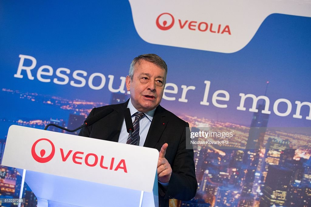 Veolia Group Announces Financial Results For 2015 In Paris