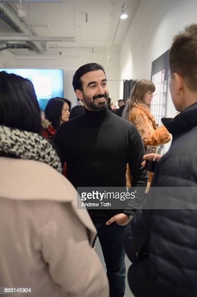 CEO of Vero Ayman Hariri attends Robert Whitman Presents Prince 'Pre Fame' Private Viewing Event Exclusively On Vero on December 14 2017 in New York...