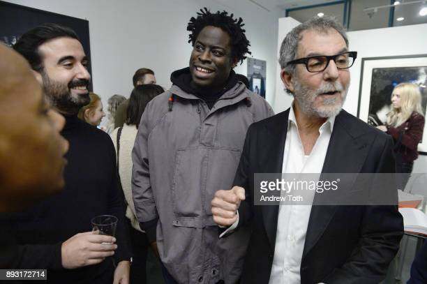 CEO of Vero Ayman Hariri Jeymes Samuel and photographer Robert Whitman attend Robert Whitman Presents Prince 'Pre Fame' Private Viewing Event...
