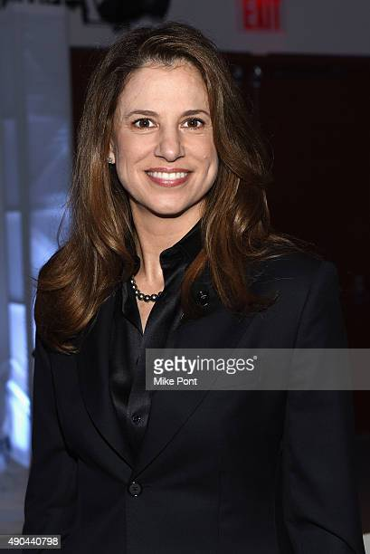 CEO of Verve Mobile Nada Stirratt poses at the The Mobile CSuite panel during Advertising Week 2015 AWXII at the ADARA Stage at Times Center Hall on...