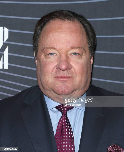 CEO of Viacom Robert M Bakish attend the MTV Staying Alive Foundation 20th Anniversary gala at Gustavino's on November 27 2018 in New York City