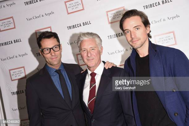 CEO of Victoria's Secret Beauty Greg Unis president of New York Academy of Art David Kratz and cofounder and president of Paddle8 Alexander Gilkes...