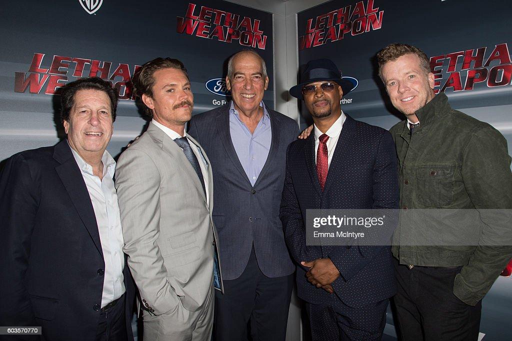 Premiere Of Fox Network's 'Lethal Weapon' - Red Carpet : Nachrichtenfoto