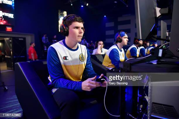 CB13 of Warriors Gaming Squad plays against TWolves Gaming during The Ticket Tournament of the NBA 2K League on June 14 2019 at The Fortress at Full...