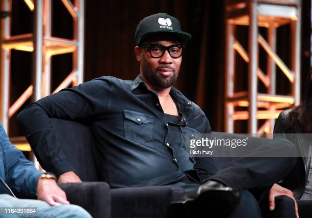 Of 'Wu-Tang: An American Saga' speaks onstage during the Hulu segment of the Summer 2019 Television Critics Association Press Tour at The Beverly...