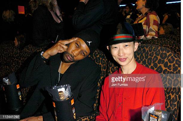 RZA of WuTang Clan during 2004 BAFTA Awards Backstage and Audience at The Odeon Leicester Square in London United Kingdom