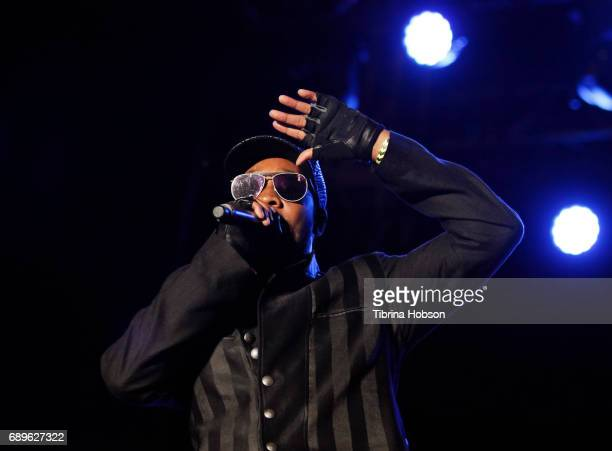 RZA of WuTang Clan performs at the 1st annual Ship Show Music Festival on May 27 2017 in Alameda California