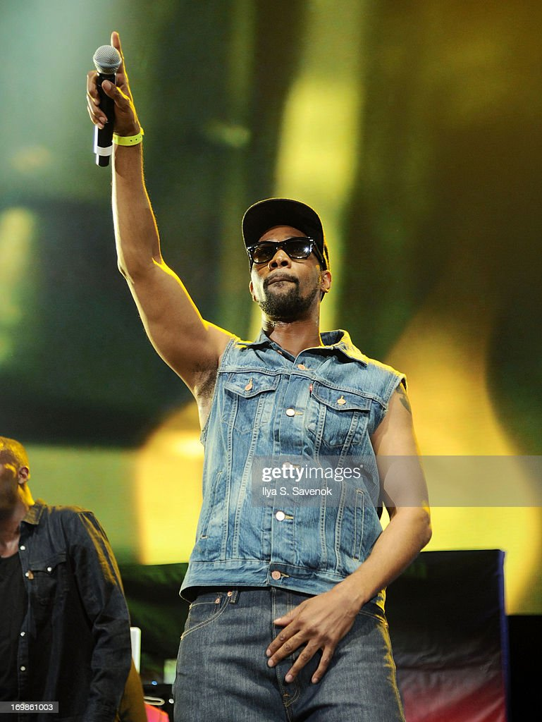 RZA of Wu-Tang Clan performs during HOT 97 Summer Jam XX at MetLife Stadium on June 2, 2013 in East Rutherford, New Jersey.