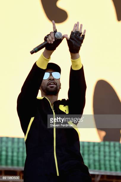 RZA of WuTang Clan performs onstage during the 2017 Governors Ball Music Festival Day 2 at Randall's Island on June 3 2017 in New York City