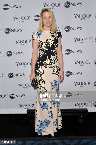 CEO of Yahoo Marissa Mayer attends the Yahoo News/ABCNews PreWhite House Correspondents' dinner reception preparty at Washington Hilton on May 3 2014...
