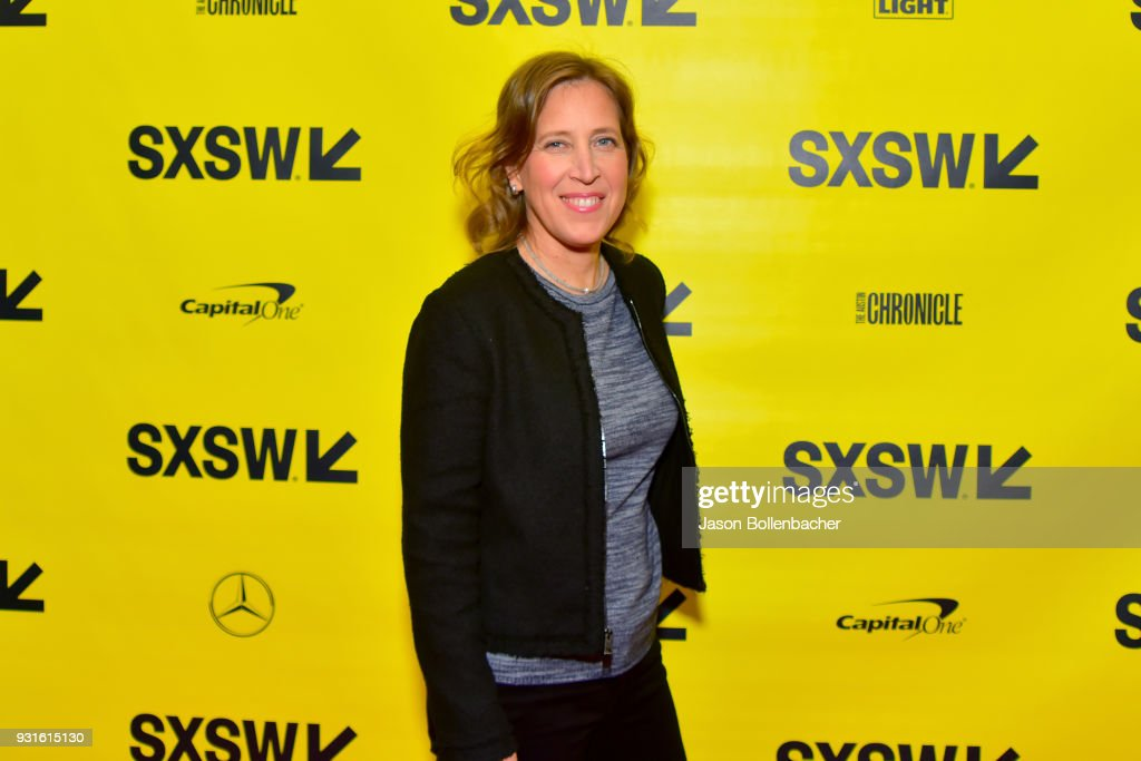 CEO of YouTube Susan Wojcicki attends Navigating the Video Revolution in the Digital Age during SXSW on March 13, 2018 in Austin, Texas.