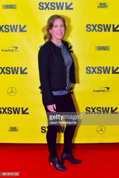 CEO of YouTube Susan Wojcicki attends Navigating the Video Revolution in the Digital Age during SXSW on March 13 2018 in Austin Texas