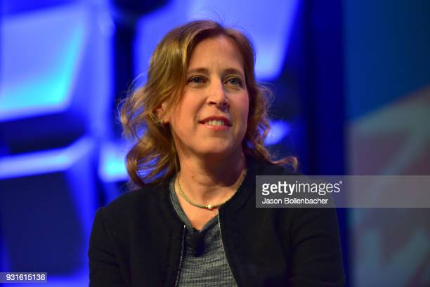 CEO of YouTube Susan Wojcicki speaks onstage at Navigating the Video Revolution in the Digital Age during SXSW on March 13 2018 in Austin Texas