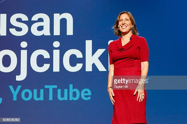CEO of Youtube Susan Wojcicki speaks onstage during YouTube Brandcast presented by Google on May 5 2016 in New York City