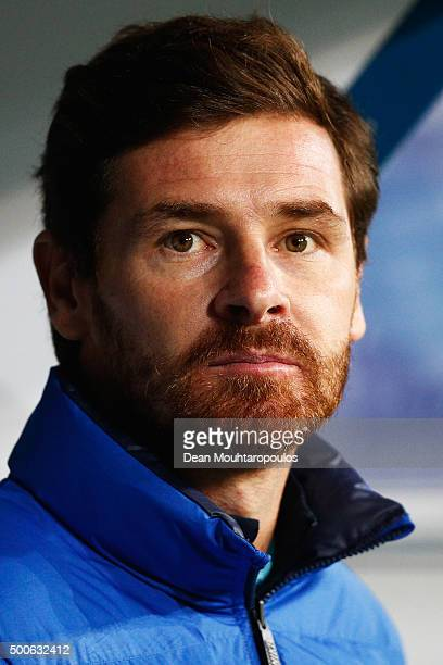 of Zenit Saint Petersburg Head Coach / Manager Andre VillasBoas looks on during the group H UEFA Champions League match between KAA Gent and Football...