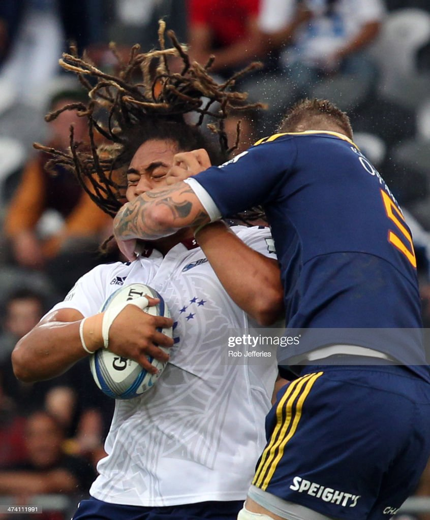 Super Rugby Rd 2 - Highlanders v Blues : News Photo