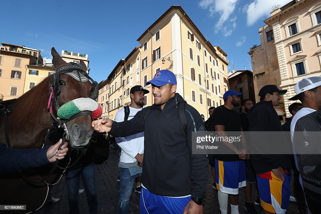 New Zealand All Blacks In Rome