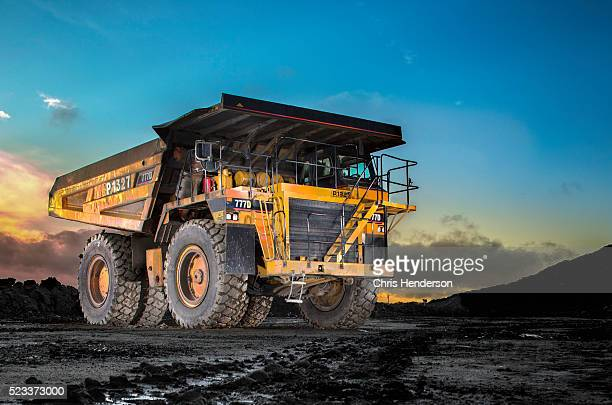 Off highway mining truck on Surface Mine.