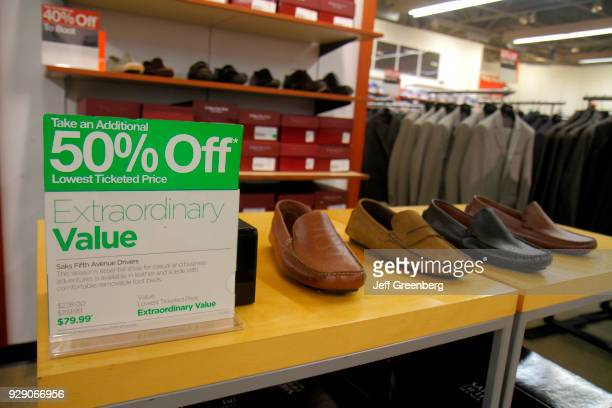 50% off mens shoes in Off 5th Saks Fifth Avenue Outlet