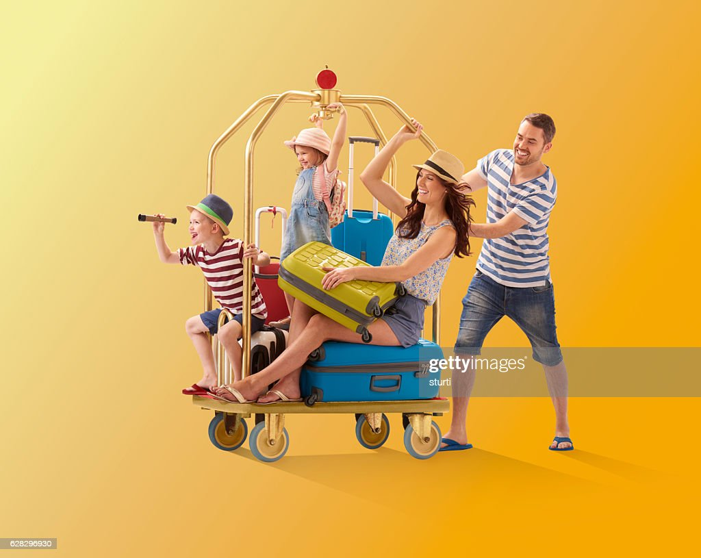 off on holiday : Stock Photo