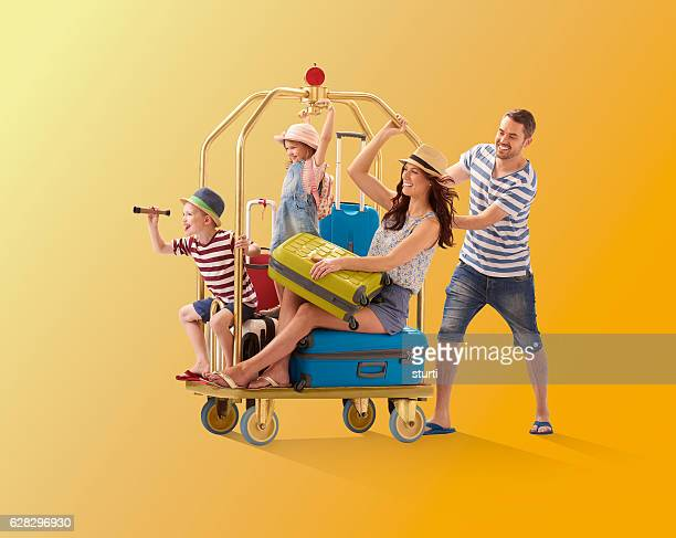 off on holiday - family vacation stock pictures, royalty-free photos & images