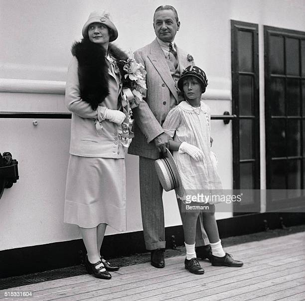 Off on Long Needed Holiday Trip Forsaking thoughts of chorus beauties Florenz Ziegfeld and wife an daughter Billie Burke and Patricia sailed today...