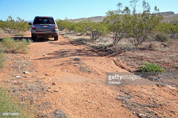 off road adventure with the land rover lr2 - land rover stock pictures, royalty-free photos & images