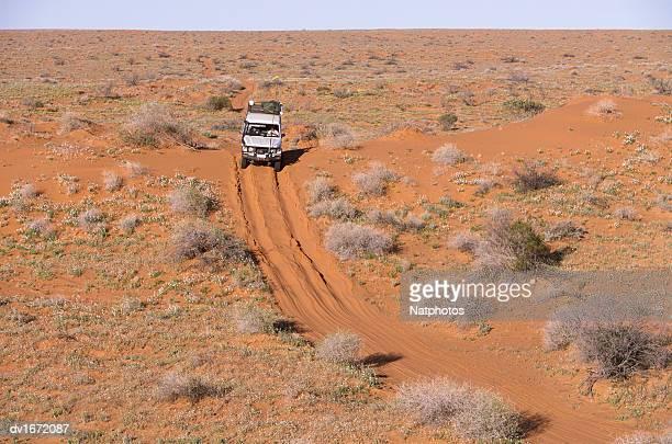 Off Road Car, Simpson Desert, Southern Australia