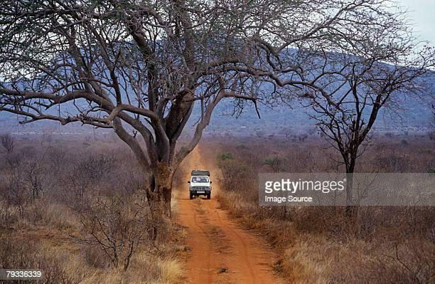 Off road vehicle in kenya