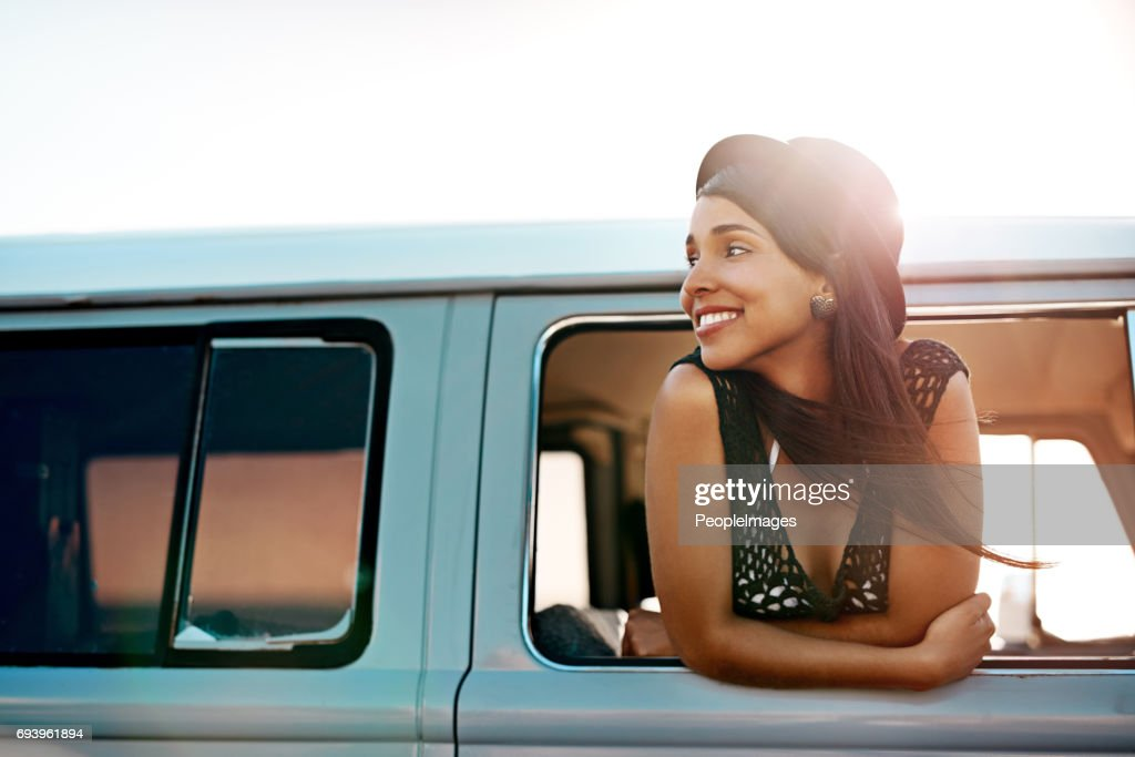Off to see what's out there : Stock Photo