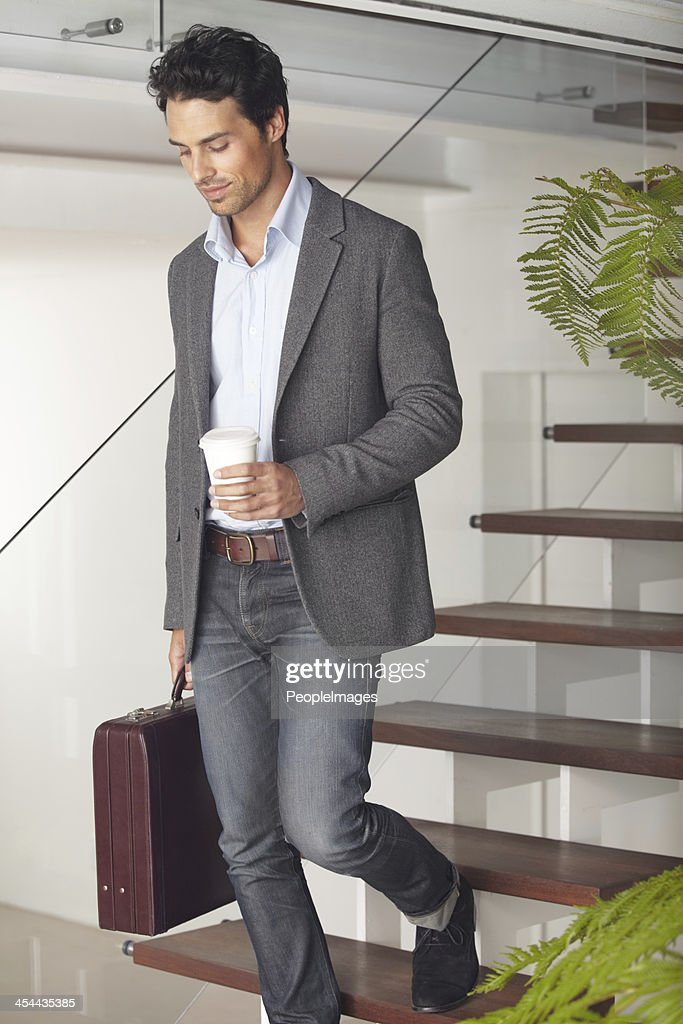 Off to work... : Stock Photo