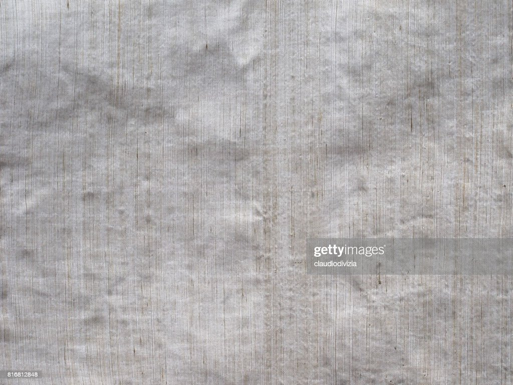 Off White Fabric Texture Background Stock Photo